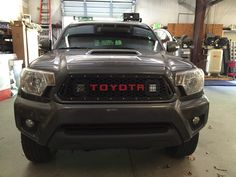 2012-2015 Taco Grille with raised powdercoated letters
