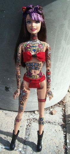 Barbie What ? - Tattoo Barbie