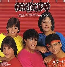 Menudo// omg!!! I adored these guys!!! Most of them are still active in PR, espevially Ricky Martin ;)