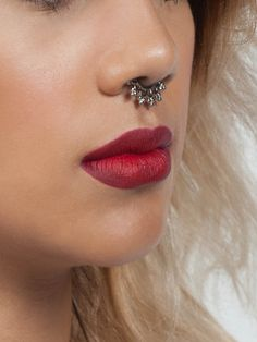 Silver Tribal Faux Septum.