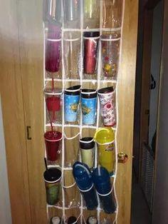 Water Bottle Storage & Organization Ideas