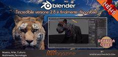 Blender 2.8 – la nuova e incredibile versione finalmente disponibile - Blender 2.8 in versione stabile è stato finalmente rilasciato da pochi giorni. Dopo alcuni anni di sviluppo da parte di tutta la nutrita community di sviluppatori Blender, nasce una nuova era nei software di grafica 3D open source, e non solo! Software, Finals, Art