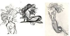 Image result for little mermaid concept art