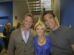 With Kelly Ripa! Download my all-new FREE women's easy diet at http://JorgeCruise.com