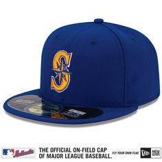 Seattle Mariners 2015 Authentic Collection On-Field 59FIFTY Alternate 2 Cap - MLB.com Shop