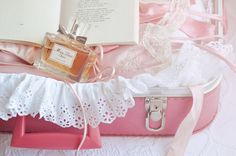 cherie pink suitcase