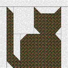 Image Search Results for cat quilt patterns