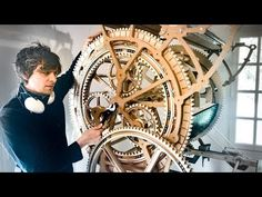 Wintergatan - Making the Planetary Gears - Marble Machine X Marble Machine, Mechanical Gears, Planetary Gear, Tech Art, Best Funny Pictures, Cosplay, Cute, Geeks, Woodworking