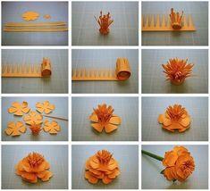 origami flower - 40 Origami Flores você pode fazer |  Arte e Design