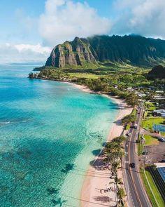 Hawaii Life, Oahu Hawaii, Hawaii Travel, Vacation Destinations, Vacation Trips, Dream Vacations, Voyage Hawaii, Voyager Seul, Island Life