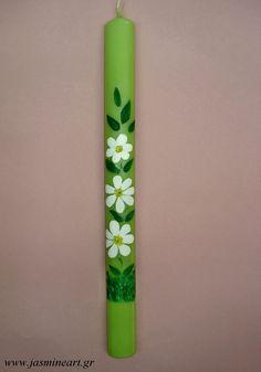 χειροποίητη ζωγραφιστή λαμπάδα Crafts To Do, Easter Crafts, Candles, Beauty, Decor, Decoration, Candy, Candle Sticks, Decorating