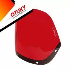 bolha nx 350 sahara honda otuky 3mm padrão vermelha