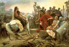 The Celts attempted one final dawn assault on the north side of the perimeter which came heart-breakingly close to success, but the Roman cavalry's counterattack destroyed that last hope.  After three days of fighting the battle of Alesia was over, the Romans had won a crushing and decisive victory, destroying the powerful Gallic tribes and turning the nation of Gaul into a province of the Roman Empire.  Caesar, had successfully defended twenty five miles of entrenchment and beaten two…