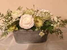 A personal favorite from my Etsy shop https://www.etsy.com/listing/609532153/farmhouse-white-hydrangea-ranuculus