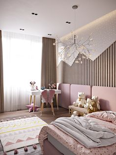 Sonyachna Brama on Behance Modern Kids Bedroom, Kids Bedroom Designs, Bedroom Furniture Design, Boys Bedroom Decor, Room Ideas Bedroom, Kids Room Design, Luxury Kids Bedroom, Teen Bedrooms, Master Bedroom