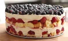 Zin in zelf taart maken maar geen zin in bakken? Deze No-Bake taart is echt geweldig!
