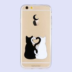Coque iPhone 6 Plus / 6s Plus Two cats in love