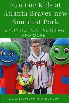 """Atlanta Braves youngest fans will be screaming, """"Take me out to the ballgame!""""; when they hear about the exciting addition coming to the new Braves Stadium at Suntrust Park! Here are the details you need to know!"""