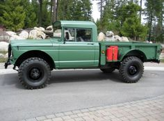1968 Jeep Kaiser M715 an Original Military Army Truck