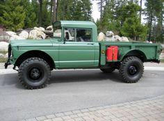 1968 Jeep Kaiser M715 an Original Military Army Truck