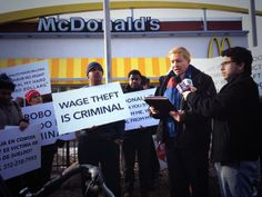 workers at McDonald's win class action suit