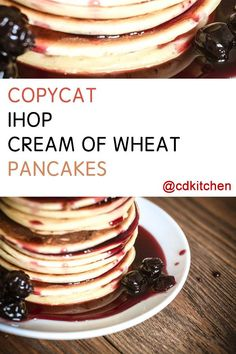 Made with salt, vegetable oil, flour, buttermilk, cream of wheat, egg, sugar, baking powder, baking soda | CDKitchen.com