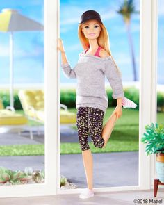 Starting the New Year on the right foot! What are your resolutions? #barbie #barbiestyle