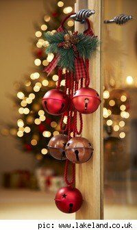 <3 bells throughout a house during Christmas ... ringing in the good news of why we celebrate.