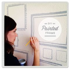 Painted Wall Frames