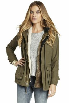 Army Jacket | BCBGeneration  https://itunes.apple.com/us/app/blisslist-easy-shopping-gifting/id667837070