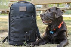 And here we have the appropriate heavy duty backpack to accompany the weekender: GORUCK GR1 Rucksack