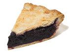 America's Test Kitchen Blueberry Pie uses a granny smith apple and a little bit of tapioca to thicken the filling.