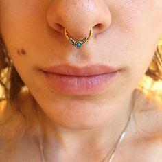 16 Gauge and 14 Gauge Faux Blue Opal Interchangeable BCR Set   Body Candy Body Jewelry #bodycandyfans