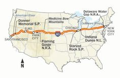 The Modern American Odyssey: 10 Days - From New York to San Francisco | Totally doable