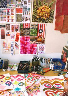Neeltje Schoenmaker - textile & surface designer / The Hague in The Netherlands