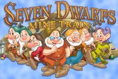 WOW!!! You have to see this!!! First Look: Feast Your Eyes On Seven Dwarfs Mine Train Characters