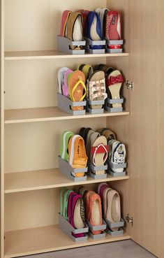 Home Discover Set Schuhhalter für Ballerinas Set of 6 shoe racks for ballerinas Closet Bedroom Bedroom Storage Girls Room Storage Shoe Storage Accessories Organizar Closets Wall Mounted Shoe Rack Garderobe Design Space Saving Shoe Rack Diy Shoe Rack Shoe Storage Accessories, Diy Shoe Storage, Diy Shoe Rack, Storage Hacks, Cord Storage, Shoe Racks, Flip Flop Storage, Shoe Storage In Wardrobe, Storage For Shoes