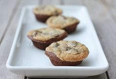 Brookies one scoop of brownie mix in a muffin pan with one scoop of cookie mix Brownie Recipes, Cupcake Recipes, Chocolate Recipes, Cookie Recipes, Dessert Recipes, Dessert Ideas, Bar Recipes, Drink Recipes, Mélanges Pour Cookies