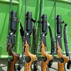 Air Rifle Hunting, Hunting Guns, Weapons Guns, Airsoft Guns, Air Cannon, Rifle Stock, Homemade Weapons, Woodworking Skills, Paintball