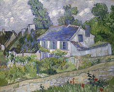 Van Gogh, House at Auvers, June 1890. Oil on canvas, 60 x 73 cm. The Toledo Museum of Art, Ohio.
