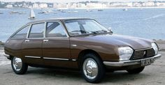 Citroen GS Pallas Citroen on a boat ramp. Is that a thing? /via classic-autoglas