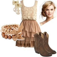 """""""Country Glam"""" by chrissy-dixon on Polyvore"""