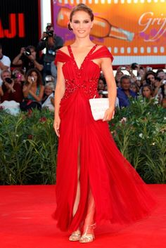 Natalie Portman - most iconic red carpet dresses of all time  #KateYoungTarget