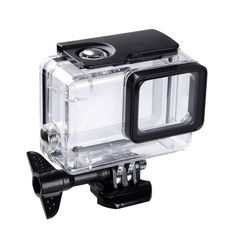 //GoPro Hero7 Black//6//5 Waterproof Case Diving Protective Housing Shell Replacement Cover with Bracket for Go Pro Camera Accessories Trehapuva Underwater Housing Case Compatible with GoPro Hero 2018