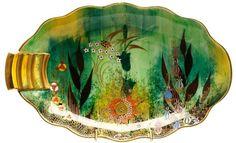 Art Deco Carlton Ware Babylon Tray/Dish - I love this!