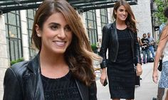Nikki Reed looks radiant in a leather jacket as she steps out in NYC