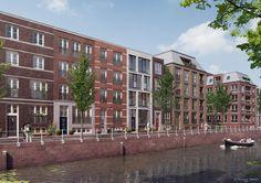 Aan de rand van Utrecht centrum start de bouw van circa 500 woningen: http://www.architectenweb.nl/n37525
