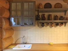 Green Cottage - O cabană superbă, chiar în grădina Carpaților - Wildventure Romania, Kitchen Cabinets, Cottage, Green, Home Decor, Cabin, Decoration Home, Room Decor, Cabinets