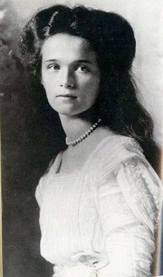 Великая княжна #Ольга Николаевна  Романова