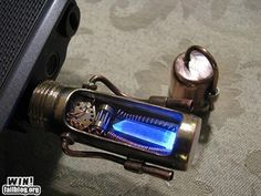 Steampunk USB Drive.   It really stands out!